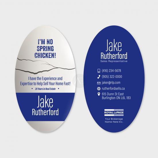 Jake Business Card [choose colours]