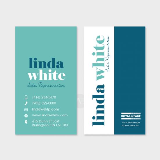 Linda Business Card [choose colours]