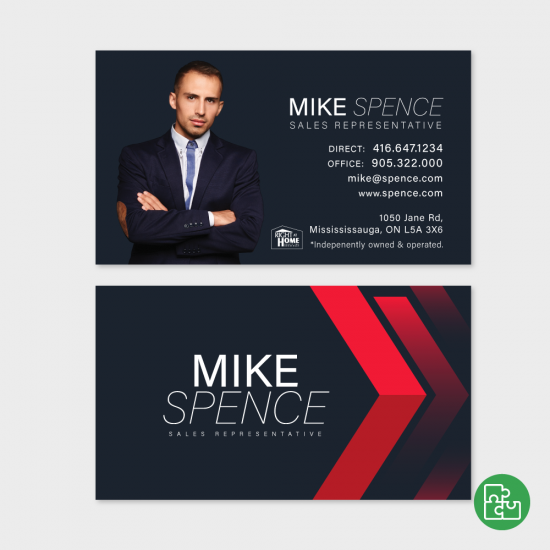 Mike Business Card