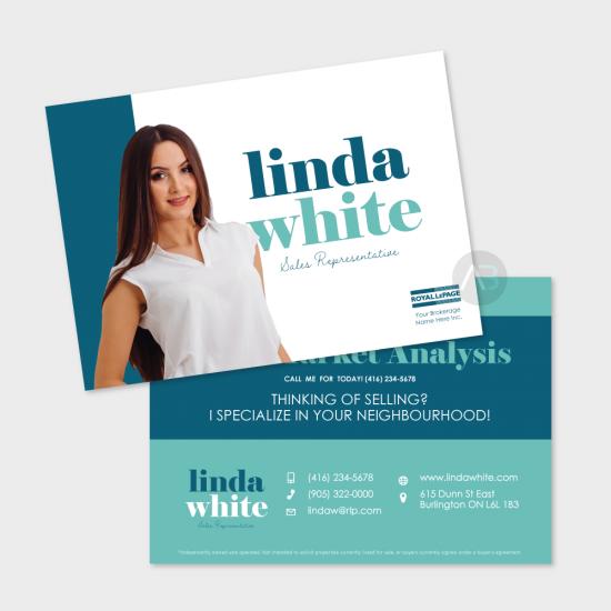 Linda Postcard - 5x7