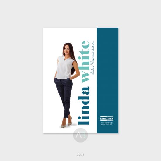 Linda Postcard - 5x7 (vertical)