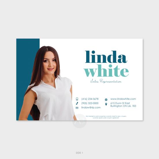 "Linda ""Just Listed"" or ""Sold"" Postcard"